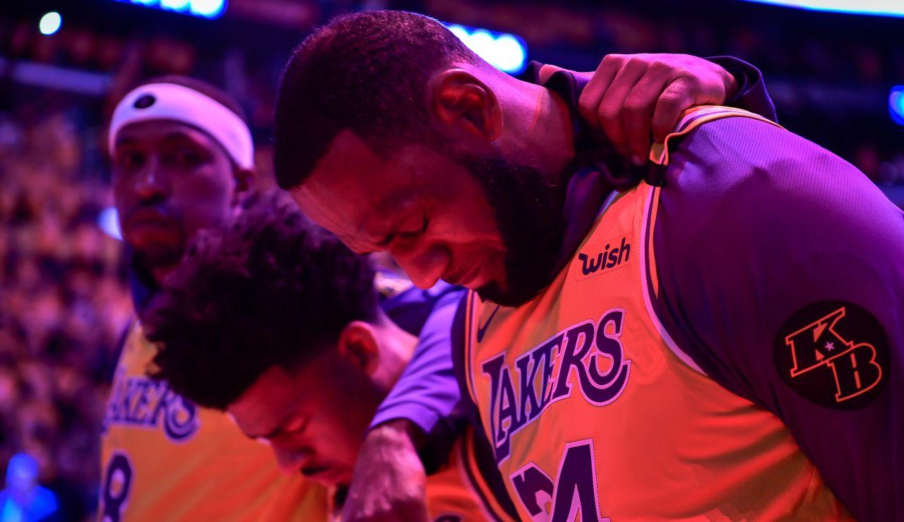 El emotivo homenaje a Kobe Bryant en el Staples Center
