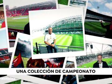 Gerardo Bernando, el coleccionista de estadios de fútbol que ya ha visitado más de 650 en todo el mundo