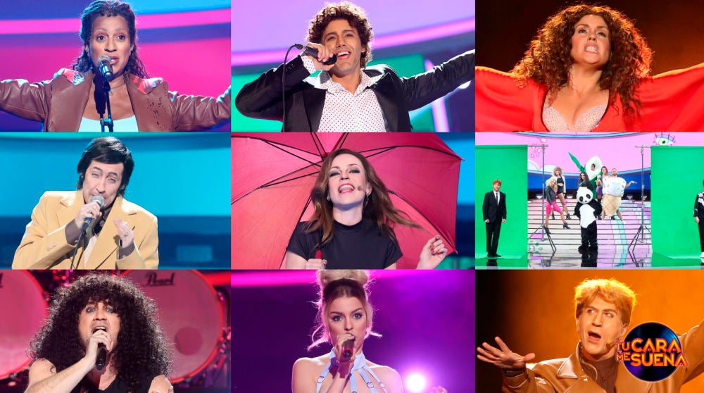 ¡Vota por la mejor actuación de cuarta gala de la octava edición de 'Tu cara me suena'!