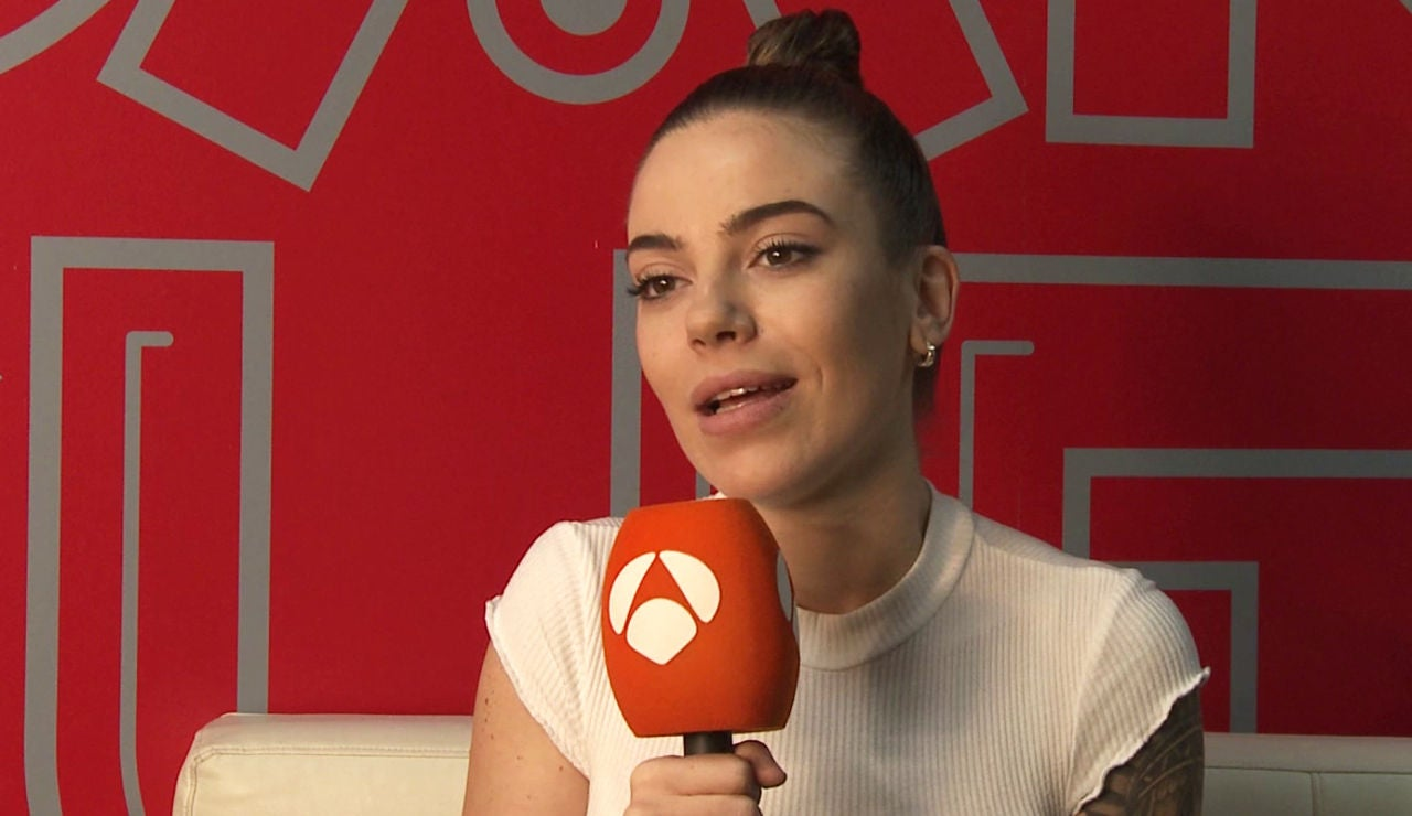 María Isabel, muy emocionada tras su primera victoria en 'Tu cara me suena'