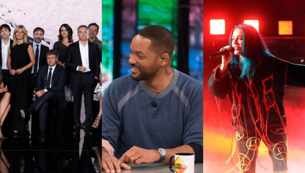 Antena 3 Noticias, 'El Hormiguero 3.0' y 'Tu cara me suena'