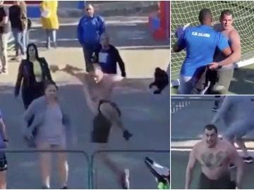 Vergonzosa agresión a un árbitro en un partido de benjamines