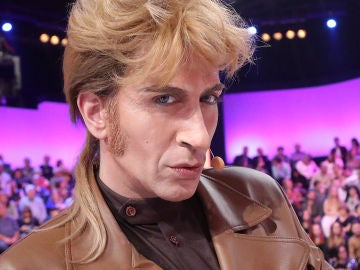 Mario Vaquerizo caracterizado de Iván en 'Tu cara me suena'