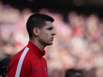 Álvaro Morata lanza un mensaje de compromiso con el Atlético de Madrid