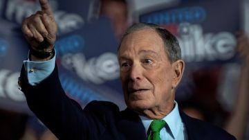 Michael Bloomberg es uno de los candidatos demócratas más destacados.