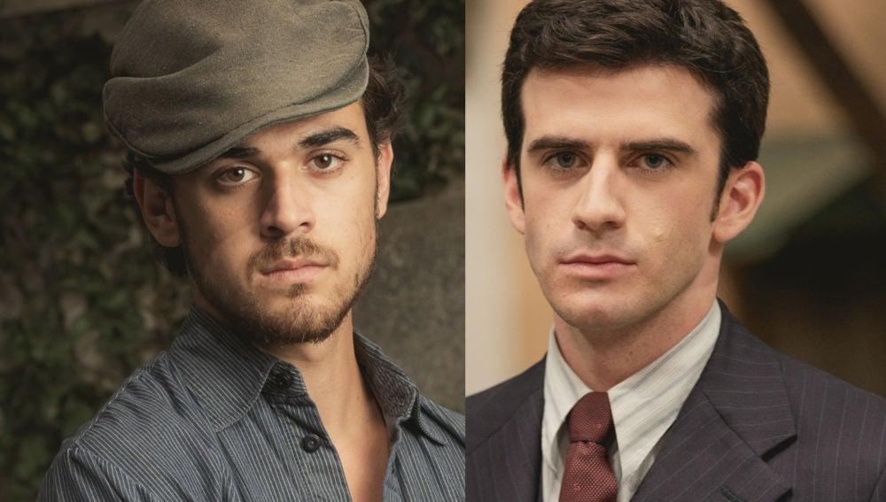 Iván Montes y Alejandro Vergara, actores de 'El secreto de Puente Viejo'