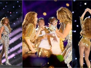 La actuación de Jennifer López y Shakira en la Super Bowl