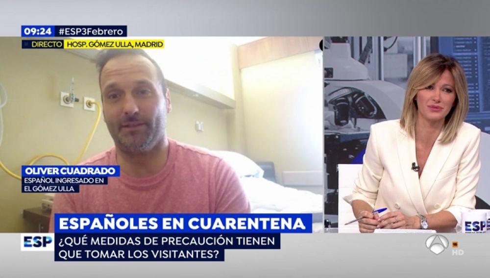 Así es el día a día de los repatriados aislados en el Gómez Ulla por el coronavirus
