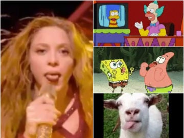 Los mejores memes del 'lengüetazo' de Shakira