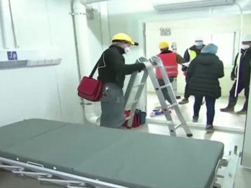 Nuevo hospital en Wuhan
