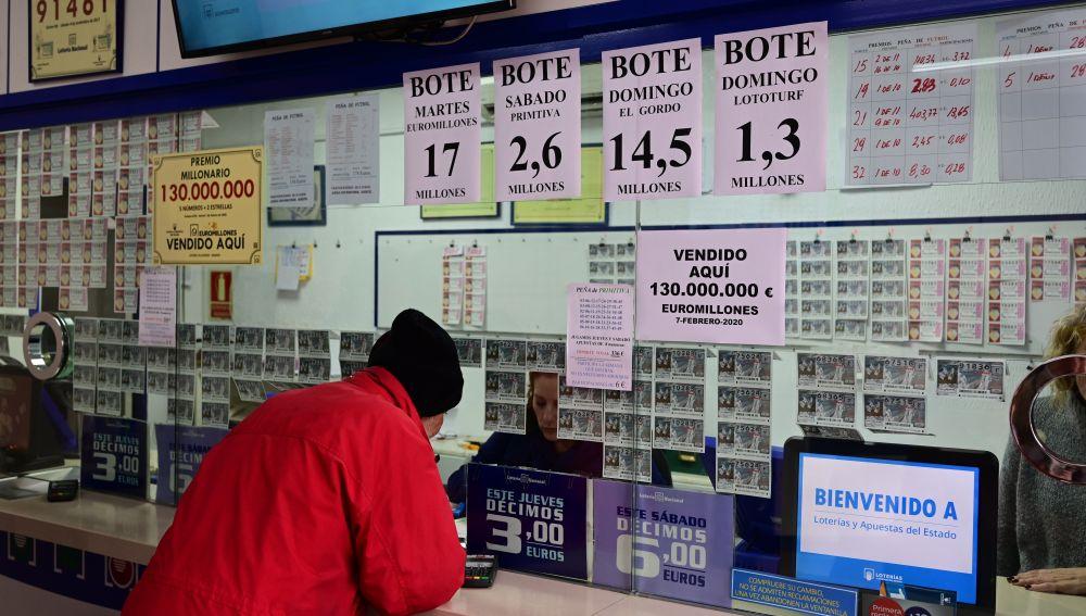 Un vecino de Villaverde gana 130 millones en el Euromillón