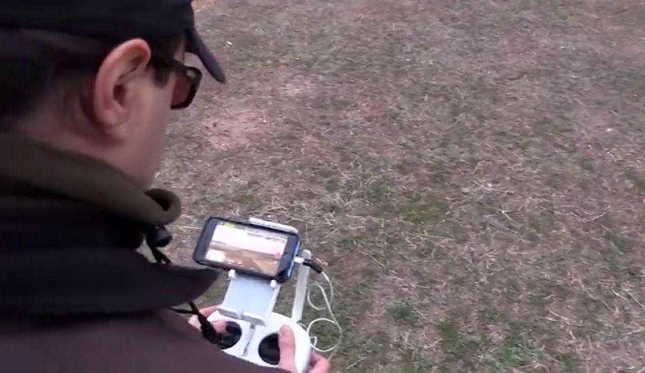 La Policía Nacional intercepta una media de tres drones ilegales cada día en Madrid