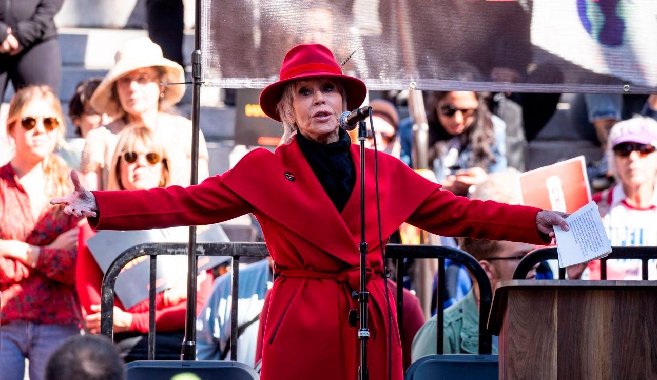 Jane Fonda en Los Ángeles