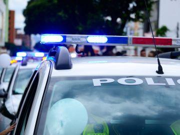 Imagen de archivo de un coche de Policía en EEUU.