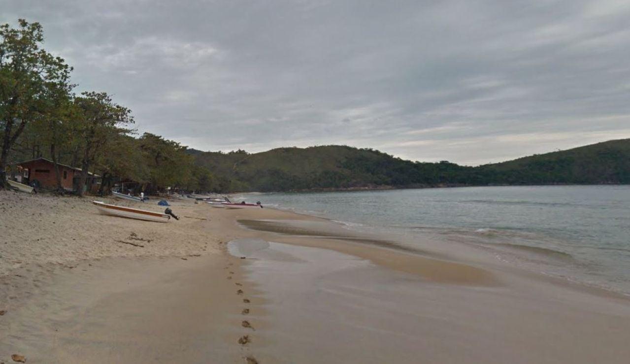 Praia do Sono, en la Costa Verde de Río de Janeiro, lugar donde ocurrieron los hechos.