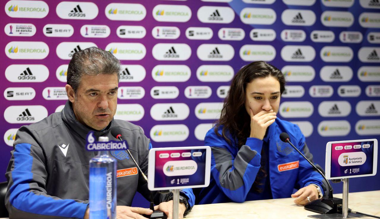 Gonzalo Arconada, en rueda de prensa