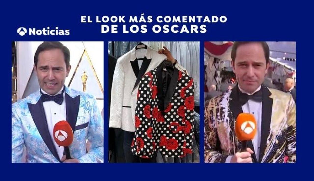 José Ángel Abad en los Oscars