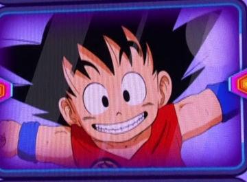 Son Goku, en el pulsador de 'Tu cara me suena'