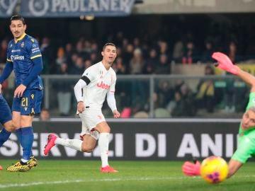 El golazo de Cristiano Ronaldo ante el Verona