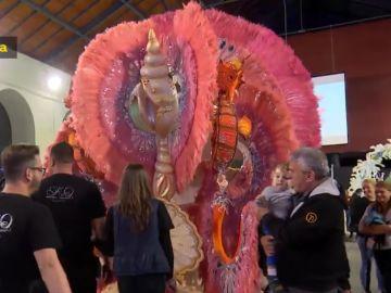 Gala la Gran Dama del carnaval de las Palmas de Gran Canaria