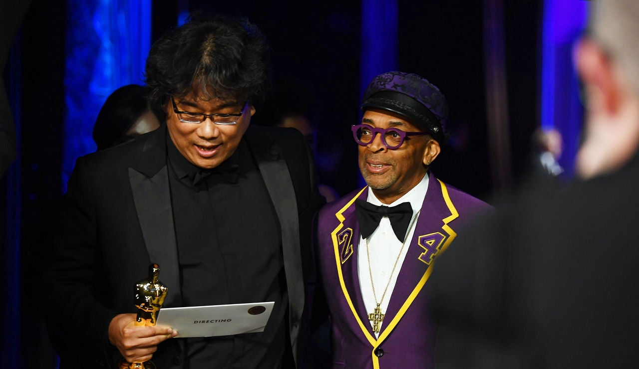 Spike Lee, junto a Bong Joon Ho