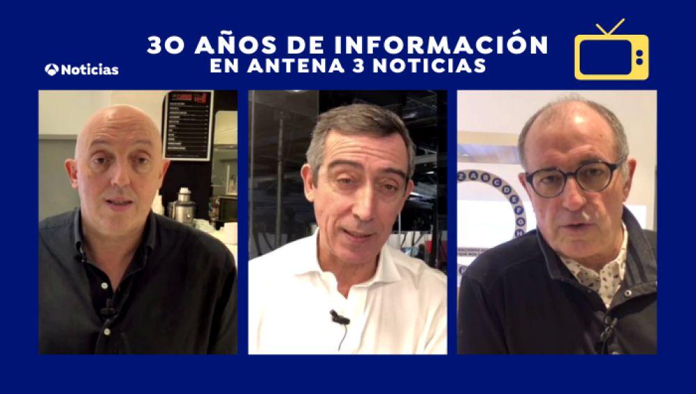 Antena 3 Noticias, treinta años de información