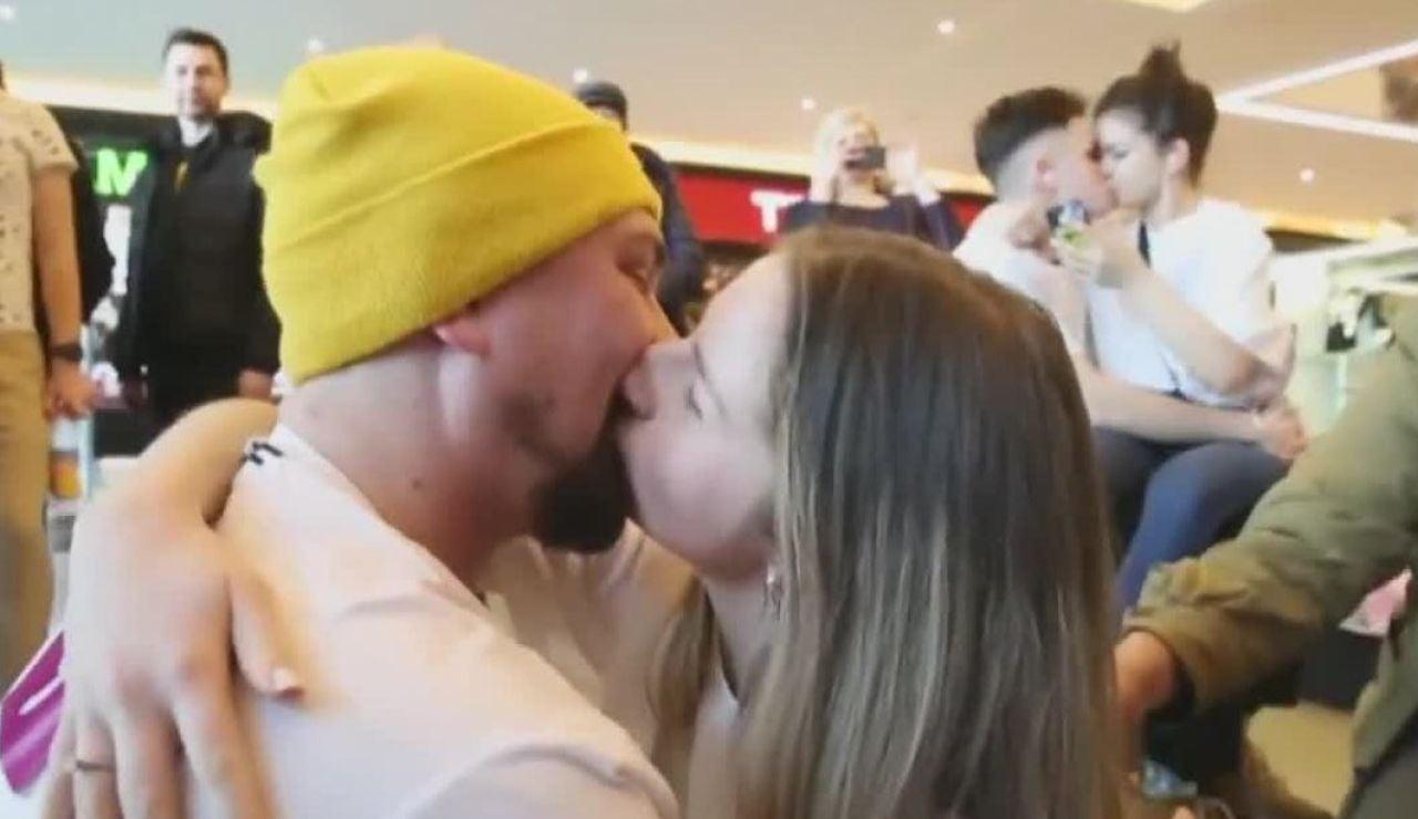 Concurso de besos en Bielorrusia