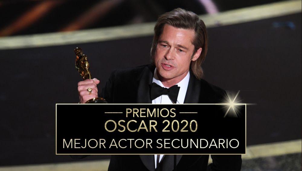 Premios Oscar 2020: Brad Pitt, mejor actor de reparto de los Oscar