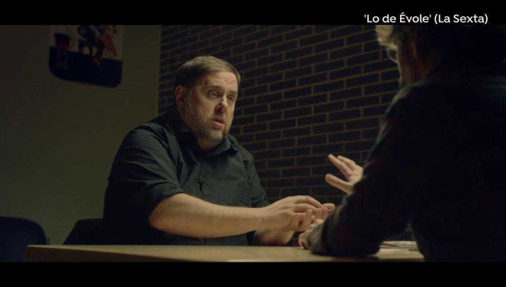 """El rifirrafe entre Oriol Junqueras y Jordi Évole: """"La mayoría parlamentaria era clarísima"""""""
