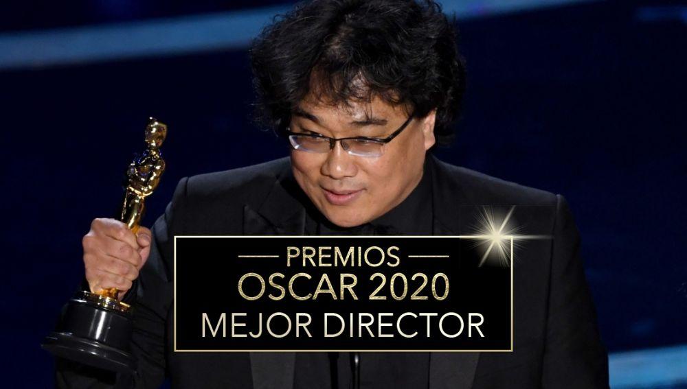 Premios Oscar 2020: Bong Joon Ho, Mejor director por 'Parásitos'