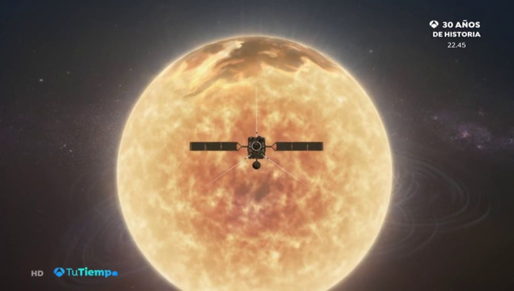La misión Solar Orbiter inicia con éxito su estudio del Sol desde nuevas perspectivas
