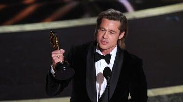 Brad Pitt gana el Oscar al Mejor Actor de Reparto