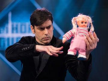 Lioz Shem Tov, el cómico mentalista israelí que sorprende con su particular espectáculo en 'El Hormgiuero 3.0'