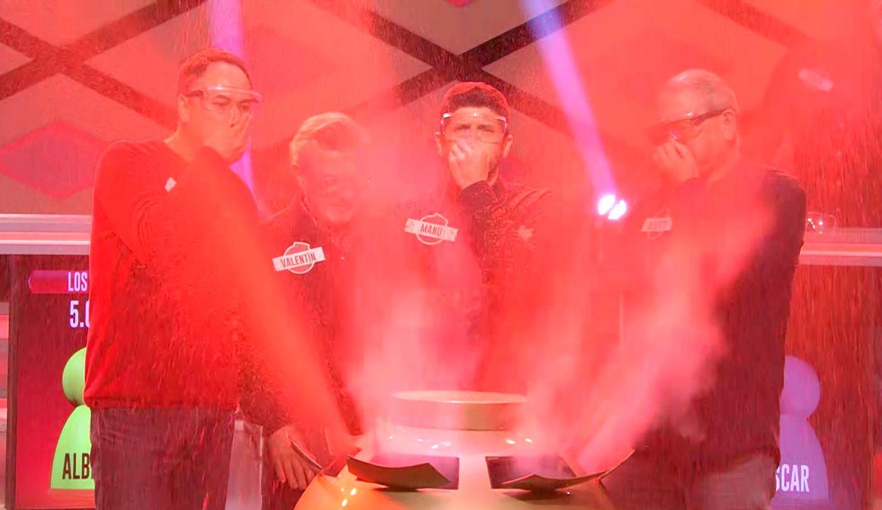 ¡Increíble! 'Los Lobos' se quedan a sólo una respuesta de repetir la gesta de llevarse el bote de '¡Boom!'