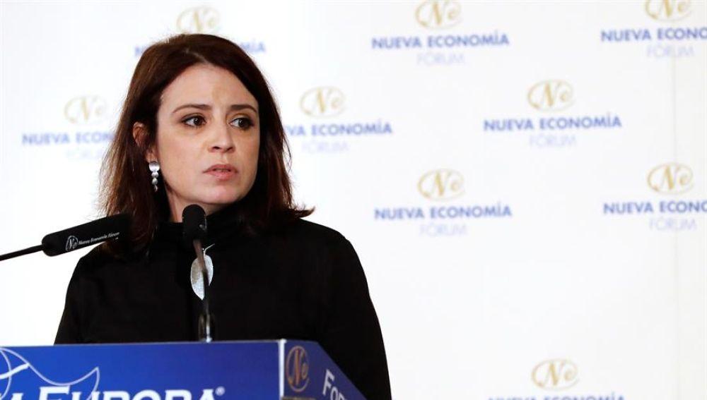 La 'número dos' del PSOE, Adriana Lastra