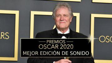 Premios Oscar 2020: Donald Sylvester, Mejor edición de sonido  por 'Le Mans'66'