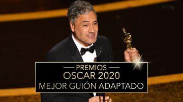 Premios Oscar 2020: Taika Waititi, Mejor guion adaptado por 'Jojo Rabbit'