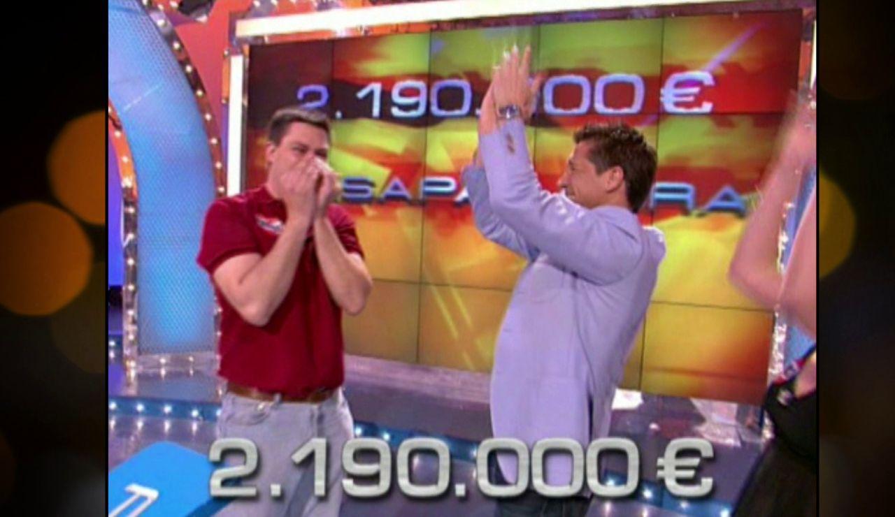Los más de 2 millones de euros de premio en 'Pasapalabra'