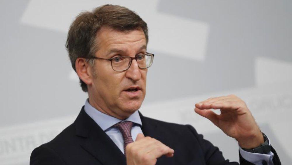 Alberto Núñez Feijóo adelanta las elecciones en Galicia