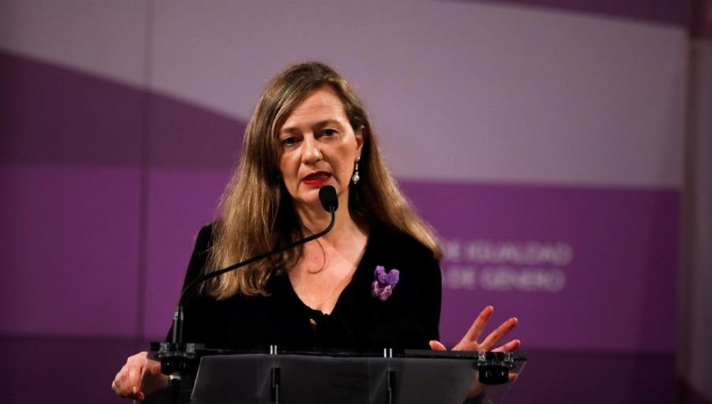 Victoria Rosell, delegada del Gobierno para la Violencia de Género