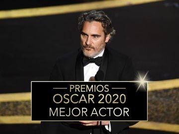 Premios Oscar 2020: Joaquin Phoenix, Mejor actor protagonista por 'Joker'