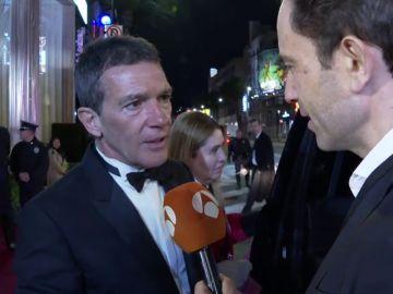"""Antonio Banderas a la sala de la ceremonia: """""""