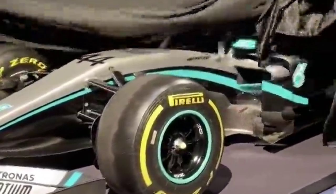 Mercedes desvela su nuevo monoplaza para el Mundial de Fórmula 1 2020