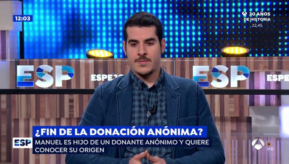 El calvario de Manuel, el hijo de un donante de semen que busca desesperadamente a su padre