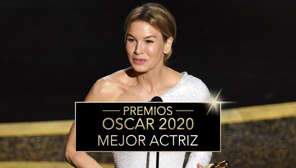 Premios Oscar 2020: Renée Zellweger, Mejor actriz protagonista por 'Judy'
