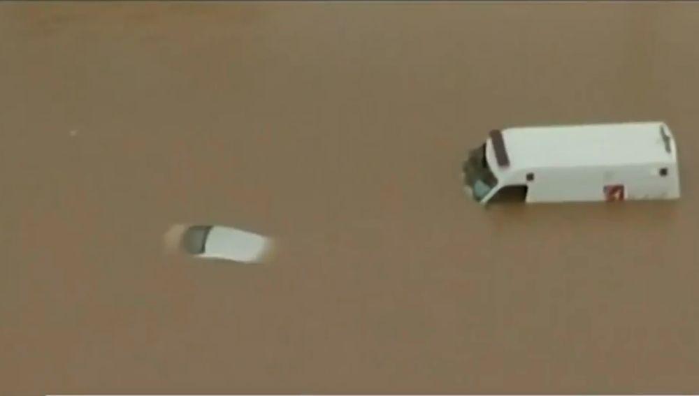 Las inundaciones acosan a la ciudad brasileña de Sao Paolo
