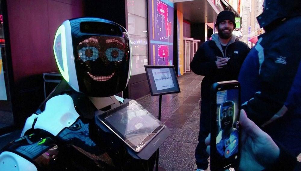 El robot que te avisa de si podrías tener coronavirus