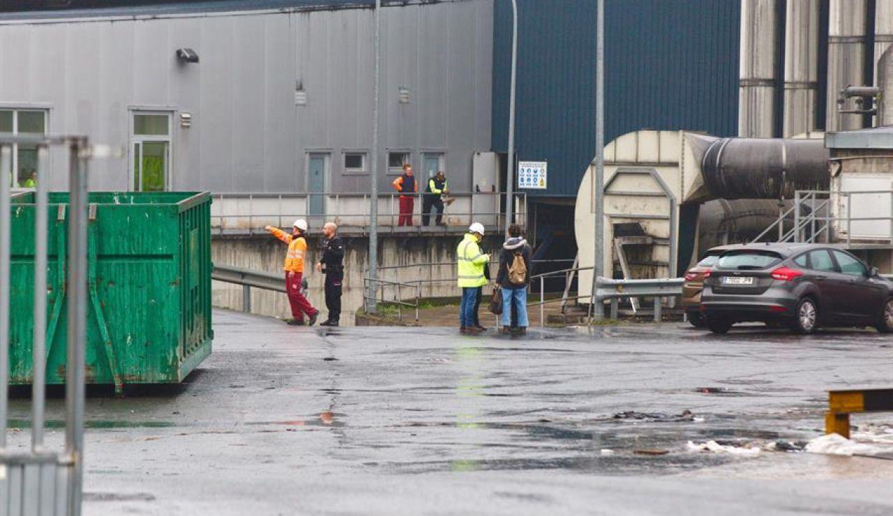 Planta de biocompost del polígono industrial de Jundiz, en Vitoria