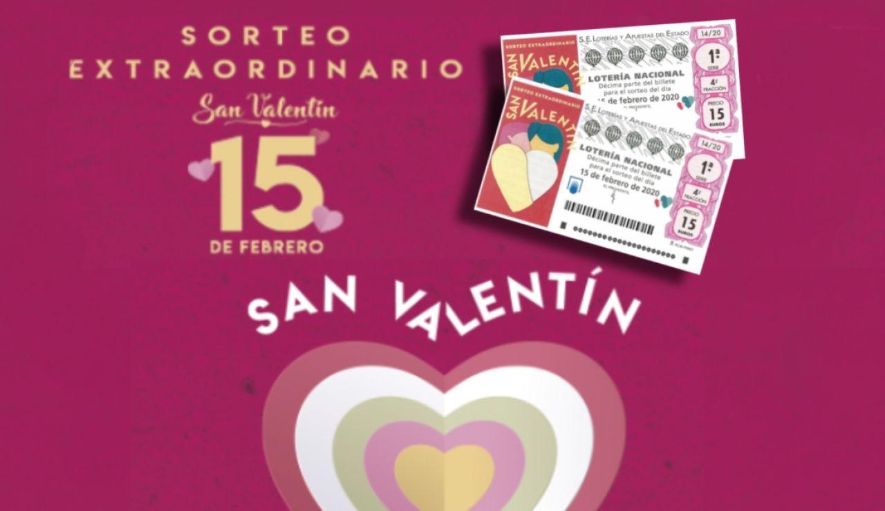 Sorteo Extraordinario de San Valentín 2020: Horario y premios del sorteo de la Lotería Nacional