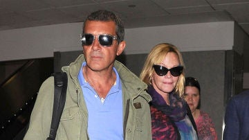 Melanie Griffith y Antonio Banderas
